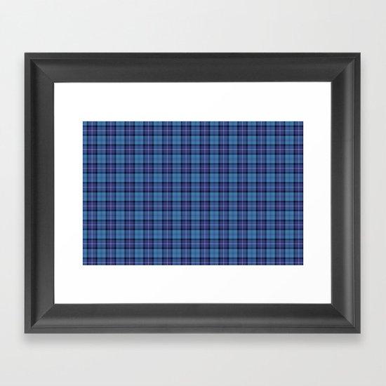 Royal Air Force Tartan Framed Art Print