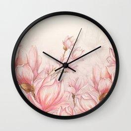 Vintage Garden (Magnolia Passion) Wall Clock