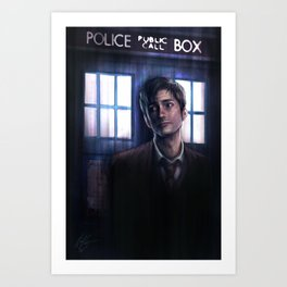 The Lonely Doctor Art Print
