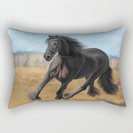 Drawing horse Rectangular Pillow