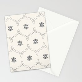 WILDFLOWER JASMIN GREY Stationery Cards