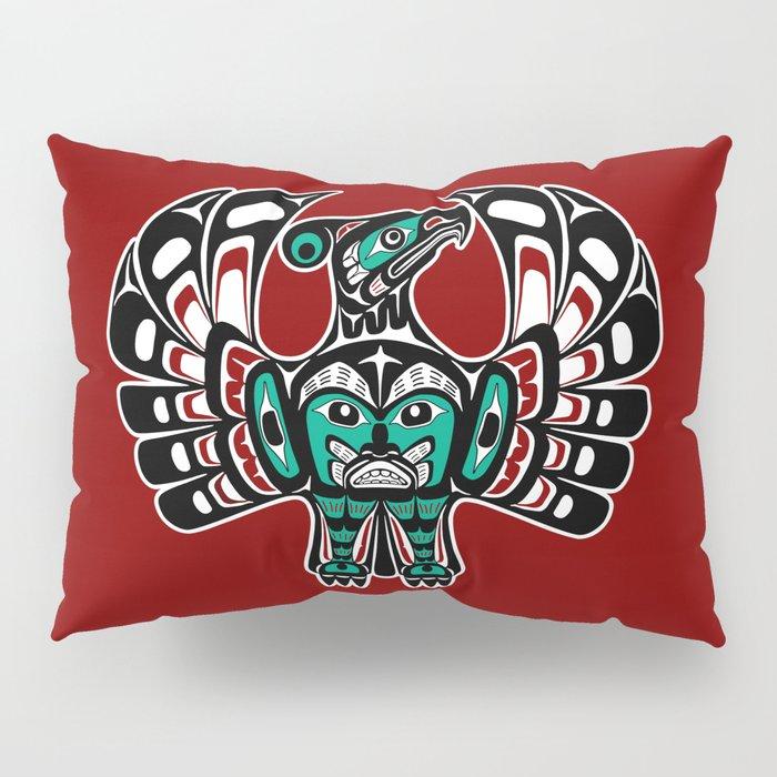 Northwest Pacific coast Haida art Thunderbird Pillow Sham