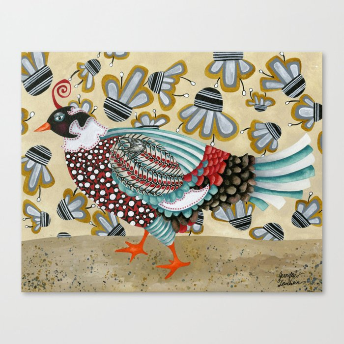 Pheasant Noble Canvas Print