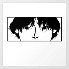 Cute Guy Art Print
