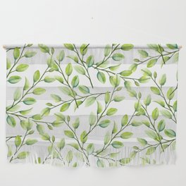 Branches and Leaves Wall Hanging