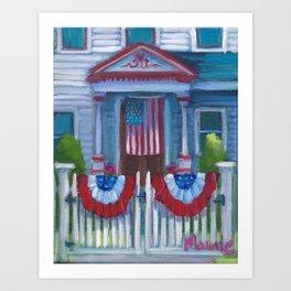 Patriotic Front Art Print