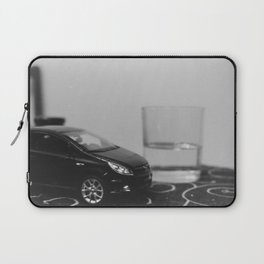 little driver and it's tiny ocean, toys landscape, urban toys Laptop Sleeve