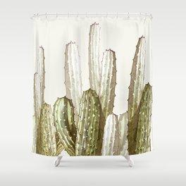 cactus florest Shower Curtain