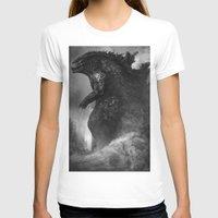 godzilla T-shirts featuring Godzilla by ffejeromdiks