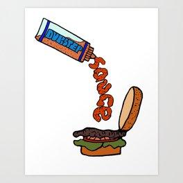 Dubstep Sauce Art Print