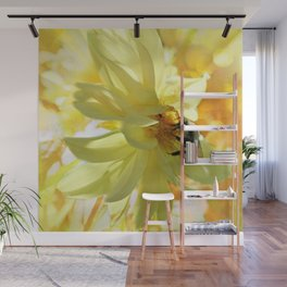 Busy Bumble Bee Wall Mural