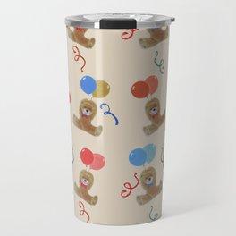 Teddy and Balloons Travel Mug