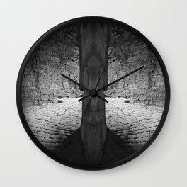 Medieval Halls: Heidelberg, Germany. Wall Clock