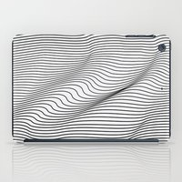 flag iPad Cases featuring Minimal Curves by Leandro Pita
