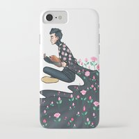 tyler spangler iPhone & iPod Cases featuring Flowering Tyler by poweredbycokezero