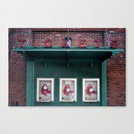 Tickets, Boston Canvas Print