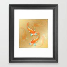 Japanese Koi Framed Art Print
