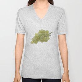 White Grapes  Unisex V-Neck