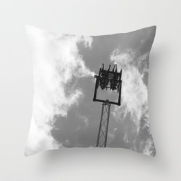 Midway ride Throw Pillow