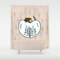 virgo Shower Curtains featuring Virgo by Giuseppe Lentini