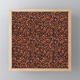 Coffee beans Framed Mini Art Print