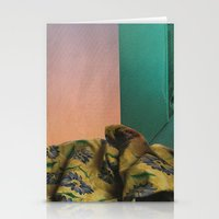 bed Stationery Cards featuring Bed by acrist