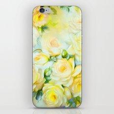 Shabby Chic Yellow iPhone & iPod Skin
