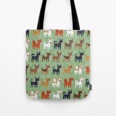 Formosan Mountain Dogs Tote Bag