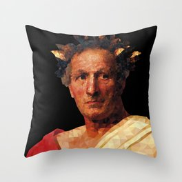 Historical Figures - Julius Caesar Throw Pillow