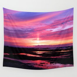 Red Haven Wall Tapestry