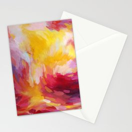 Sunset in Pink Stationery Cards
