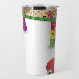 Veggie-Table Travel Mug