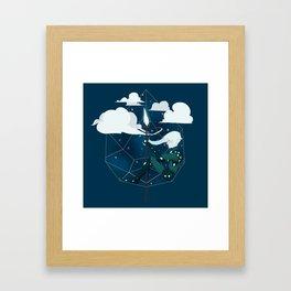 Nightlight Circlet Framed Art Print