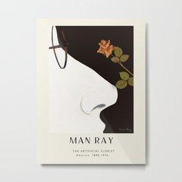 Poster-Man Ray-The Artificial Florist. Metal Print