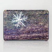 snowflake iPad Cases featuring snowflake by Bonnie Jakobsen-Martin