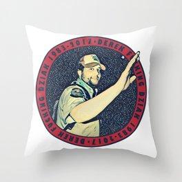Derek Memorial Throw Pillow