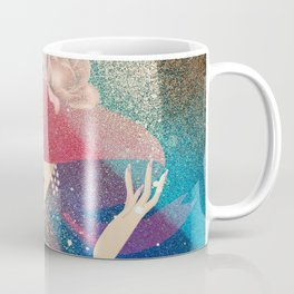 Lady in Red Coffee Mug