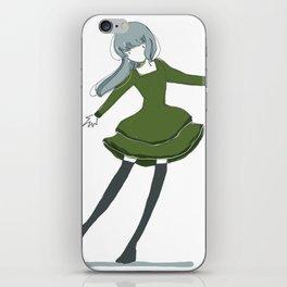 GIRL04 iPhone Skin
