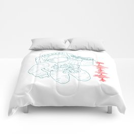 The message (spaceman) Comforters