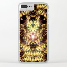 DMT Shaman Visions Clear iPhone Case