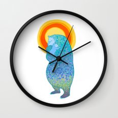 We Are Strong Wall Clock