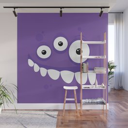 Psychos - Crazy Monsters (Purple) Wall Mural