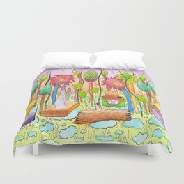 Dream Garden 2 Duvet Cover