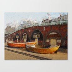 Brighton Boats Canvas Print
