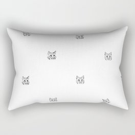 Irish Bobcat Trio Rectangular Pillow