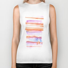171122 Self Expression 4 | Abstract Watercolors Biker Tank