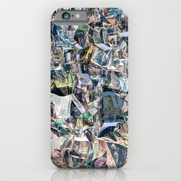 Cubism Warp iPhone Case