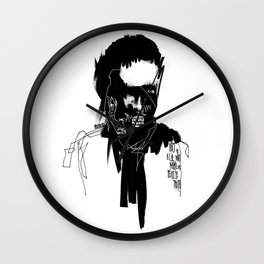 Art is a lie that makes us realize truth. Wall Clock