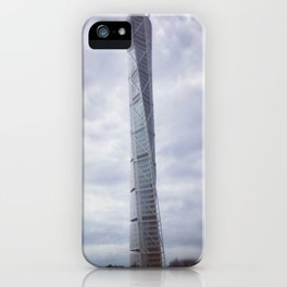 Turning torso iPhone Case
