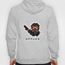 Graves, The Pixel Gunslinger Hoody